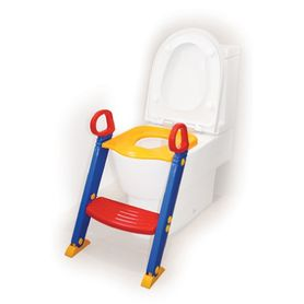 4Baby Toilet Seat With Steps - Primary Colours