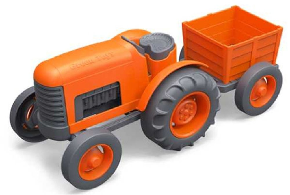 Green Toys Tractor image 0