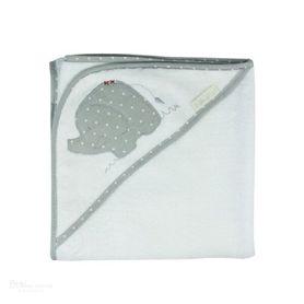 Bubba Blue Petit Elephant Hooded Towel