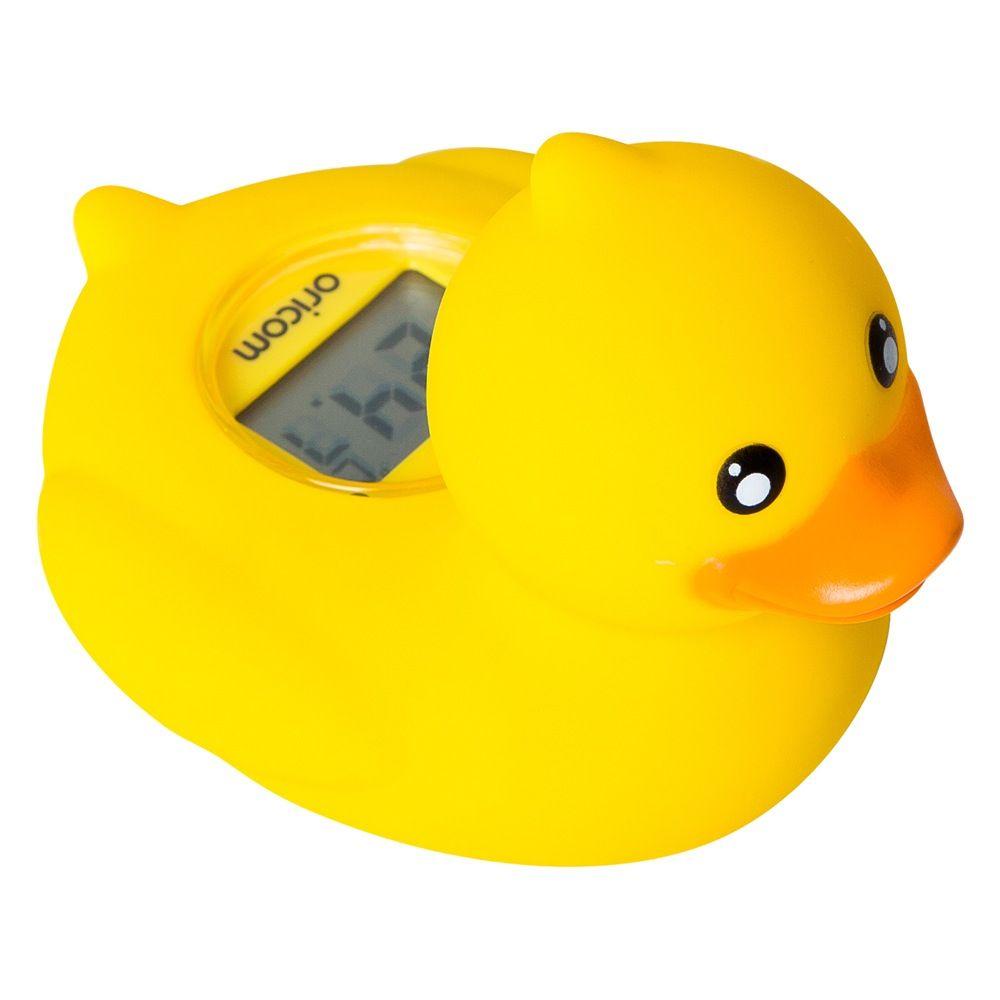 Oricom Bath & Room Thermometer Duck image 0