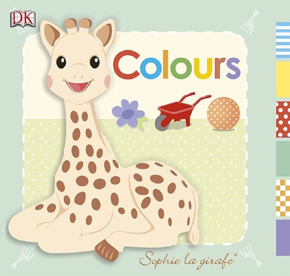 Sophie La Girafe Colours Board image 0