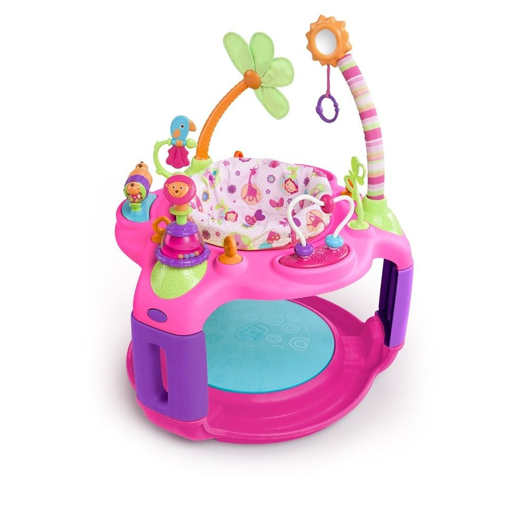 Bright Starts Sweet Safari Bounce Around Pink image 0