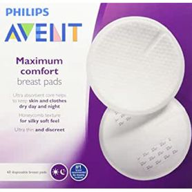 Avent Breast Pads - Disposable - Day or Night - 60 Pack