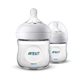 Avent Natural Bottle125ml 2 Pack