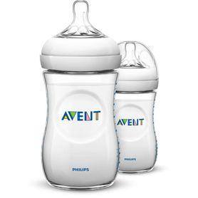 Avent Natural Bottle - 260ml - 2 Pack