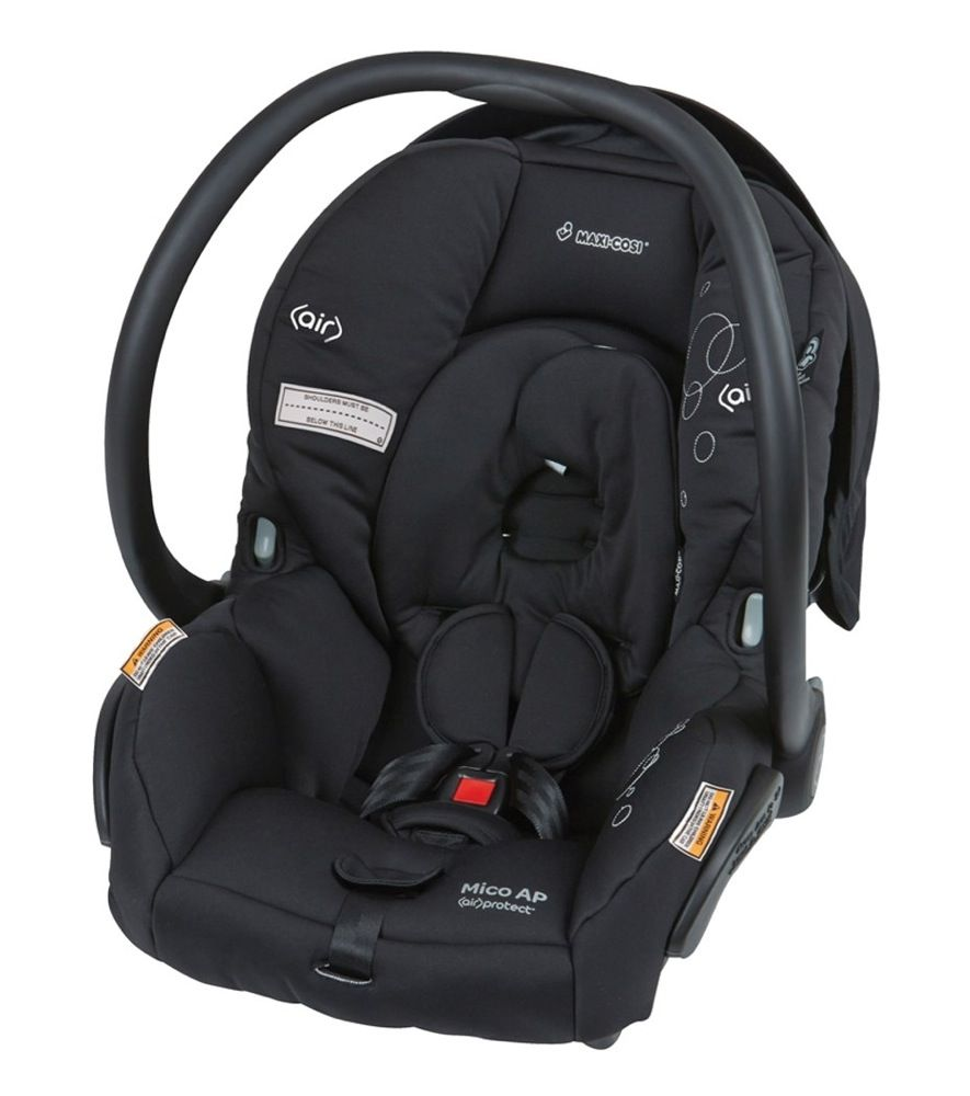 Maxi Cosi Mico AP Infant Carrier Devoted Black image 0