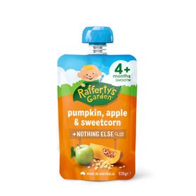 Raffertys Pump / Apple / Sweet Corn 120G