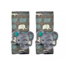 Playette Animal Strap Pals Grey Elephants