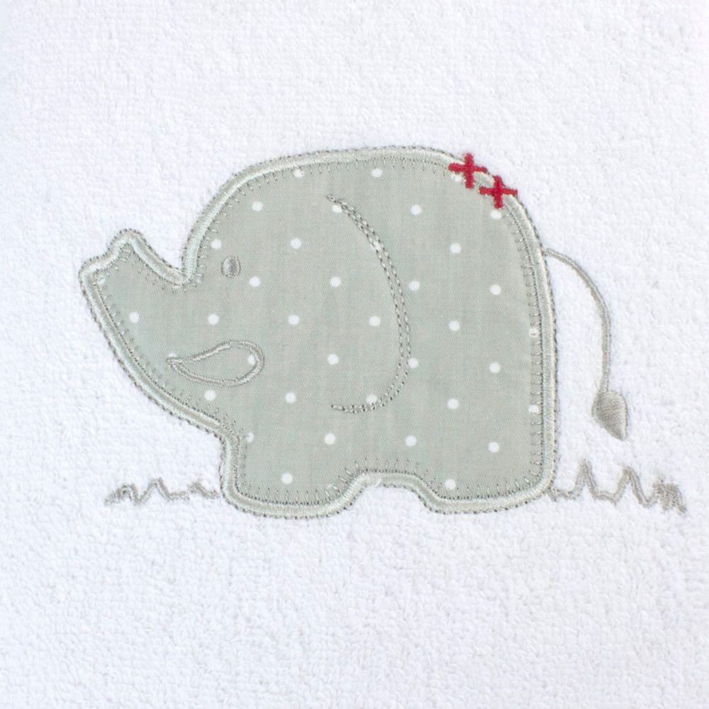 Bubba Blue Petit Elephant Bath Towel image 1