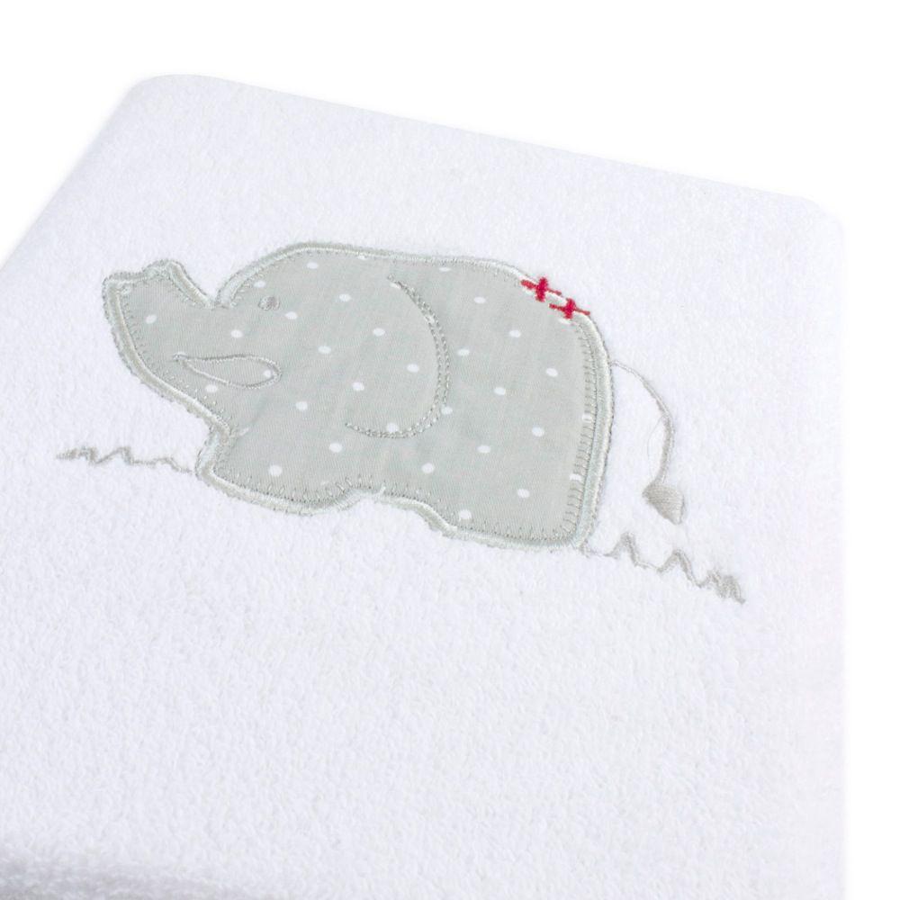 Bubba Blue Petit Elephant Bath Towel image 3