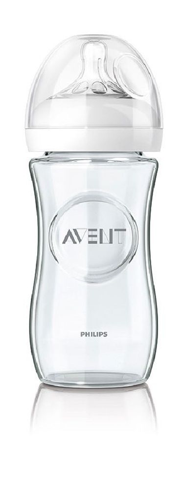 Avent Natural Glass Bottle - 240ml image 0