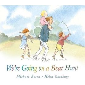 Book Going On A Bear Hunt Board