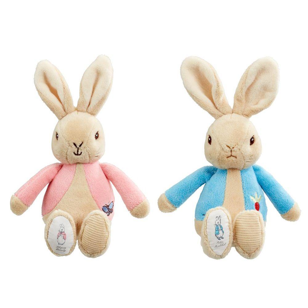 Beatrix Potter Peter Rabbit Or Flopsy Bean Rattle Assorted image 0