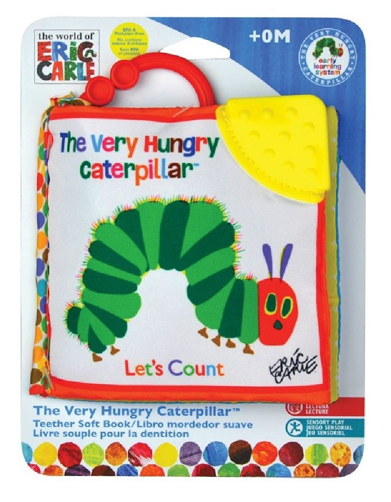 Very Hungry Caterpillar Lets Count Clip On Book image 0