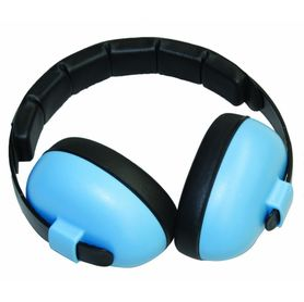 BABY BANZ EARMUFFS MINI 3M - 2YRS BABY BLUE