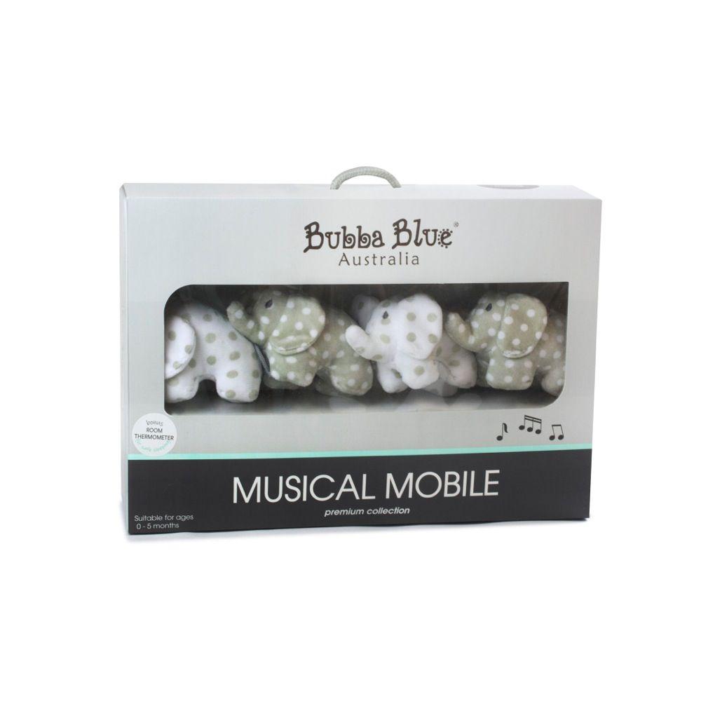Bubba Blue Petit Elephant Musical Mobile image 0