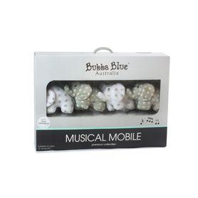 Bubba Blue Petit Elephant Musical Mobile
