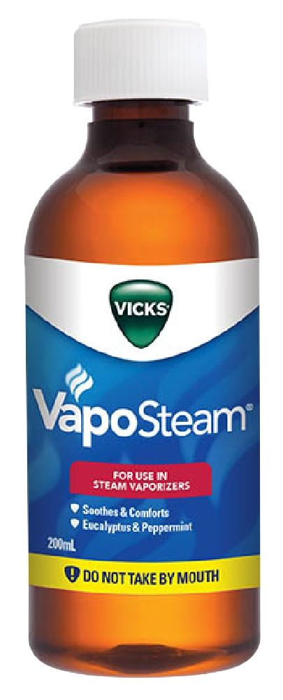 vicks vaposteam inhalant 200 ml image 0