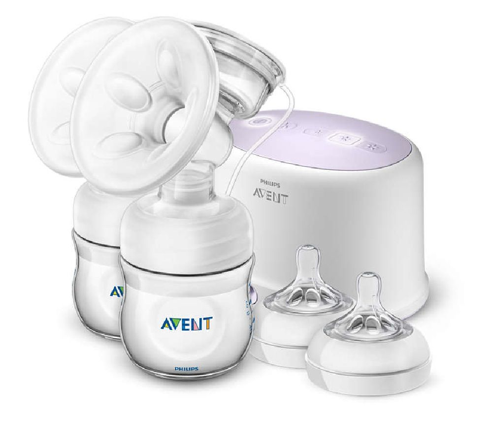 Avent Double Electric Comfort Breast Pump image 0