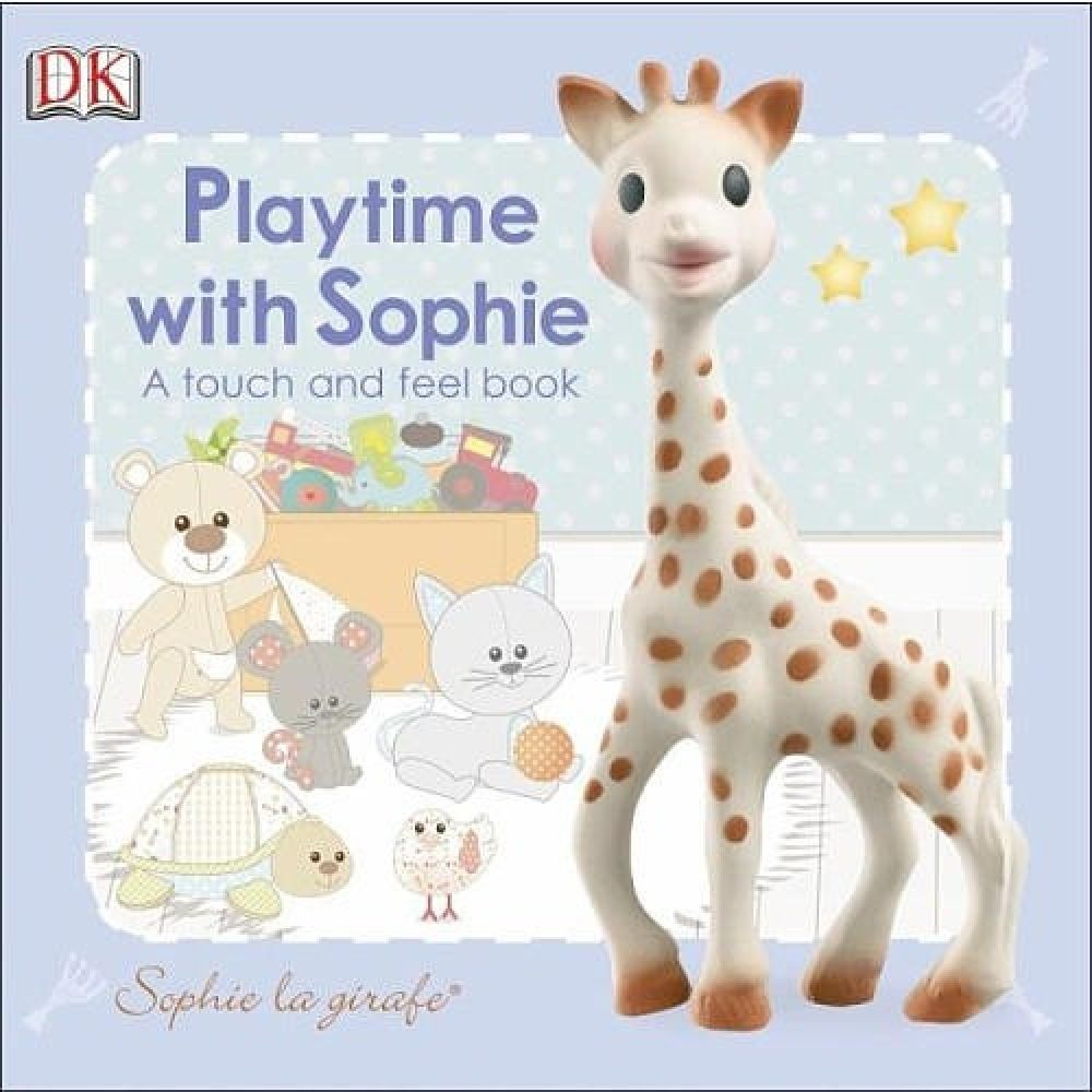 Sophie La Girafe Playtime With Sophie - A Touch & Feel Book image 0