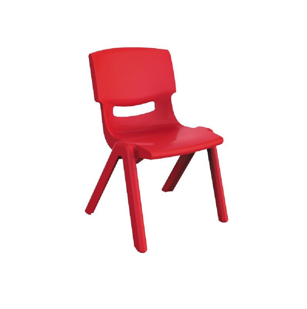 4Baby Plastic Kids Chair Red image 0