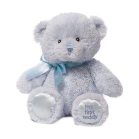 Baby Gund My First Teddy 25cm Blue