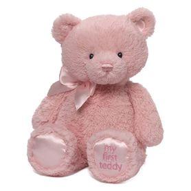 Baby Gund My First Teddy 38cm Pink